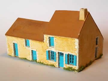 maison et annexe maquette d 39 architecture z patrick gazel. Black Bedroom Furniture Sets. Home Design Ideas